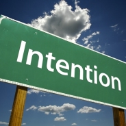 Why intentions matter